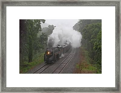 Nw 611 In The Rain Framed Print by Jonathan McCoy