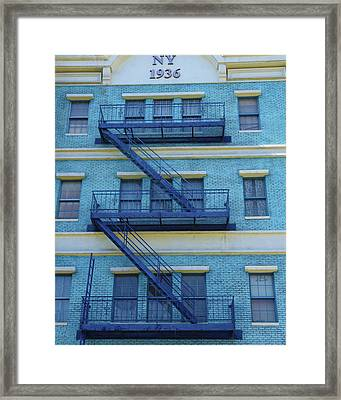 Framed Print featuring the photograph Ny 1936 by Marie Leslie