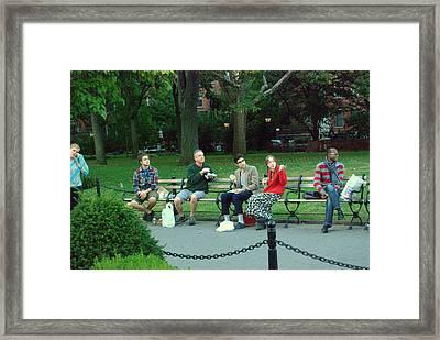 Ny Br71 Framed Print