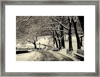 Ny Br.78 Framed Print by Ljubisa Milisavljevic