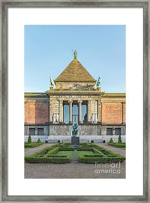 Framed Print featuring the photograph Ny Carlsberg Glyptotek In Copenhagen by Antony McAulay
