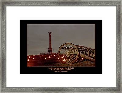 Ny Monument And Cannon 92 Framed Print by Judi Quelland