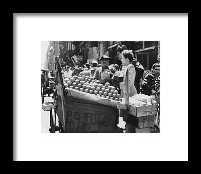 Vegetable Stands Framed Prints
