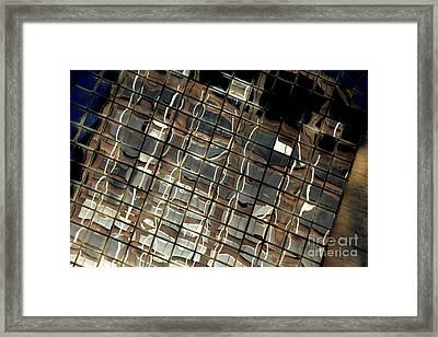 Ny Reflection One Framed Print