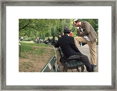 Nybr.38 Framed Print by Ljubisa Milisavljevic