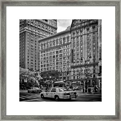 Nyc 6th Avenue Framed Print by Melanie Viola