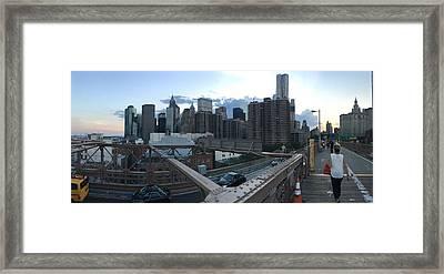 NYC Framed Print by Ashley Torres