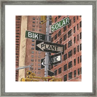 Nyc Broadway 2 Framed Print by Debbie DeWitt