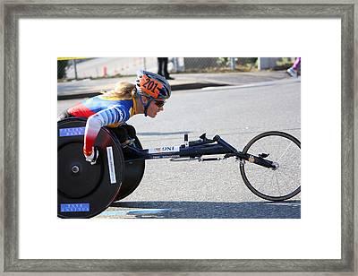 Nyc Marathon Edith Hunkeler 2 Framed Print