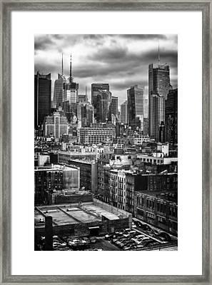 NYC Framed Print by Mauricio Jimenez