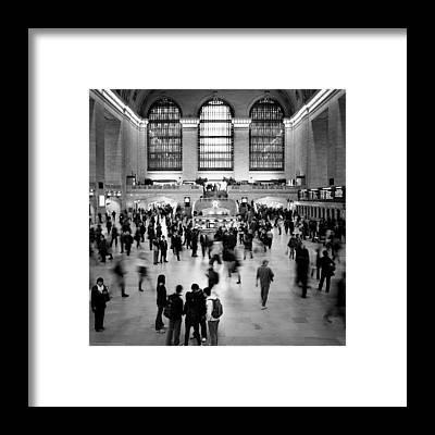 Train Station Framed Prints