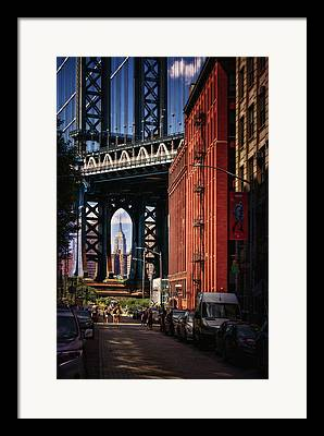 Manhatan Digital Art Framed Prints