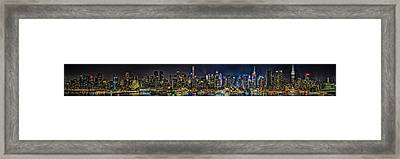 Framed Print featuring the photograph NYC by Theodore Jones