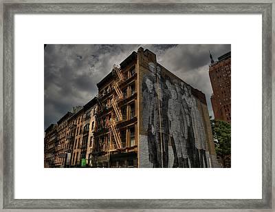 Nyc - Tribeca 001 Framed Print by Lance Vaughn