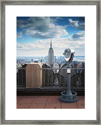 Nyc Viewpoint Framed Print