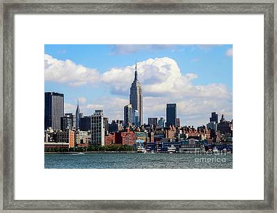 Nyc Westside Framed Print