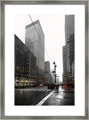 Nyc044 Framed Print by Svetlana Sewell