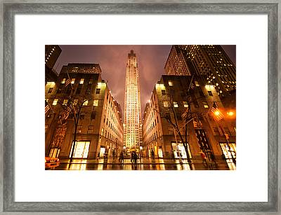 Nyc054 Framed Print by Svetlana Sewell