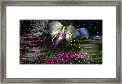 Nyghtmagick Framed Print by Eva Thomas