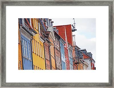 Nyhavn Framed Print by Harvey Barrison