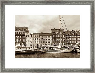 Nyhavn - New Harbor Framed Print