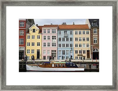Nyhavn Pastels Framed Print