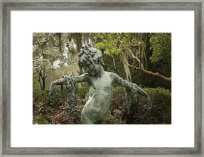Framed Print featuring the photograph Wood Nymph by Jessica Brawley