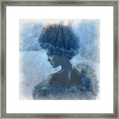 Nymph Of January Framed Print