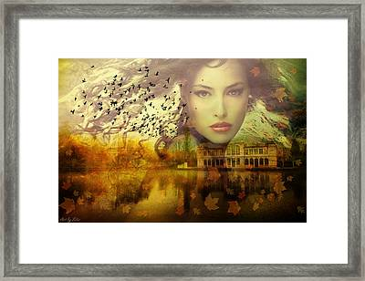Nymph Of November Framed Print by Lilia D