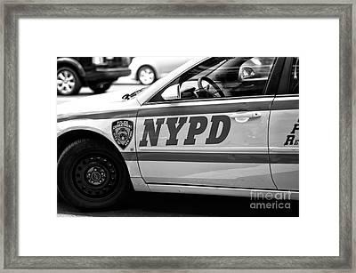 Nypd Framed Print
