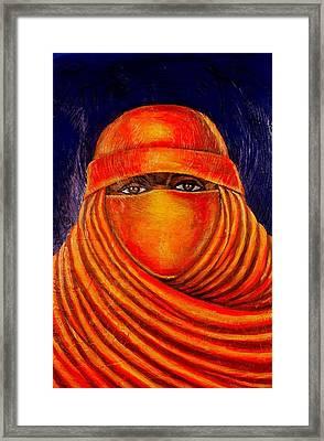 Nzuri Framed Print by Malik Seneferu