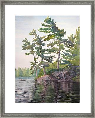 O Canada No.2 Framed Print by Debbie Homewood