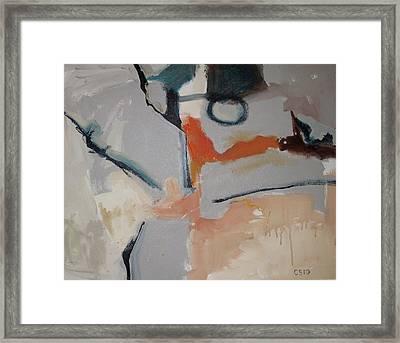 O Framed Print by Charlie Spear