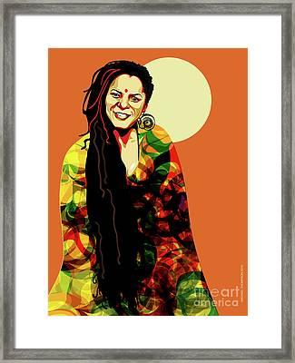 O' Fania Framed Print by Michael Thompson