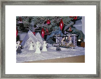 O Holy Night Framed Print by JAMART Photography