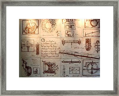 O Investigator Framed Print