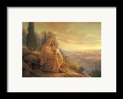 Jesus Framed Prints
