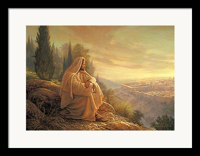 Esus Paintings Framed Prints