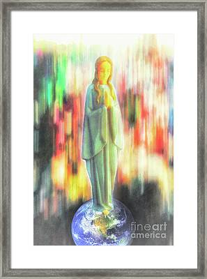 O Mary, Conceived Without Sin, Pray For Us Who Have Recourse To Thee Framed Print