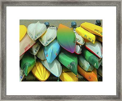 O Row You Didn't Framed Print