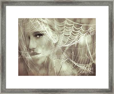 O, What A Tangled Web We Weave When First We Practise To Deceive Framed Print