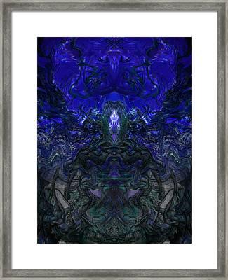 Oa-4167 Framed Print