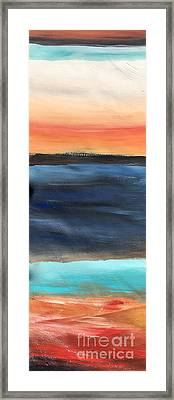 Oak Creek #31 Southwest Landscape Original Fine Art Acrylic On Canvas Framed Print