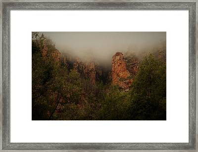Oak Creek Canyon Arizona Framed Print