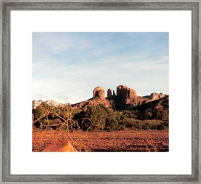 Oak Creek Canyon Framed Print by Lauri Novak