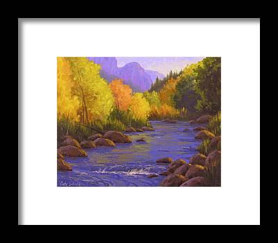 Creek Framed Prints