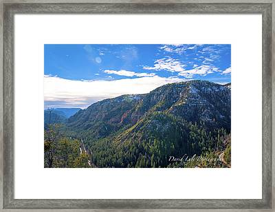 Oak Creek Vista Framed Print