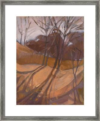Oak Savanna Framed Print