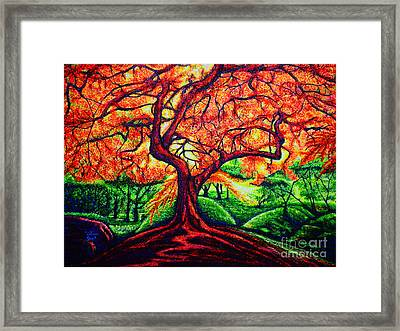OAK Framed Print by Viktor Lazarev