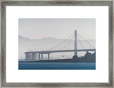 Oakland Bay Bridge Framed Print
